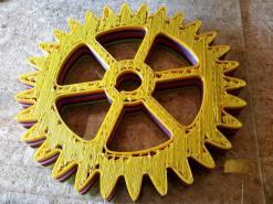 Wydrukowane koło zębate